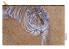 Carry-all Pouch featuring the painting Sasha by Tom Roderick