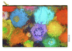 Sasha's Special Floral Garden. Carry-all Pouch