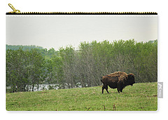 Saskatchewan Buffalo Carry-all Pouch