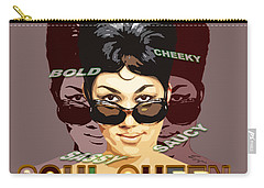 Sassy Soul Queen Aretha Franklin Carry-all Pouch