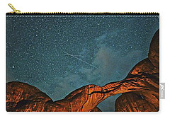 Satellites Crossing In The Night Carry-all Pouch