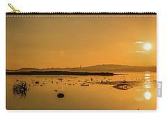 Saturday Morning Along The Estuary  Carry-all Pouch by Martina Fagan