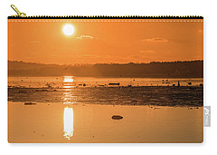 Saturday Morning Along The Estuary Pano Carry-all Pouch by Martina Fagan