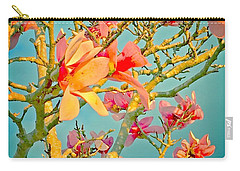 Saucer Magnolia Carry-all Pouch by Angela Annas