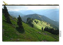 Carry-all Pouch featuring the photograph Sauk Mountain Hillside by Karen Molenaar Terrell