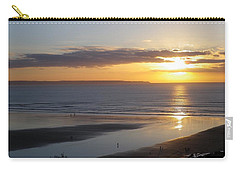 Saunton Sands Sunset Carry-all Pouch