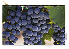Sauvignon Grapes Carry-all Pouch