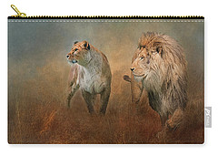 Savanna Lions Carry-all Pouch