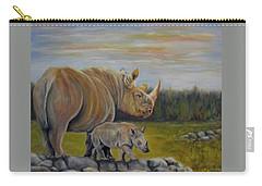 Savanna Overlook, Rhinoceros  Carry-all Pouch