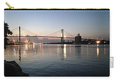 Savannah Bridge Evening  Carry-all Pouch