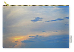 Carry-all Pouch featuring the photograph Savannah Sunset by Tara Potts