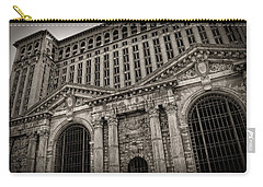 Save The Depot - Michigan Central Station Corktown - Detroit Michigan Carry-all Pouch