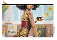 Saving The Bees Carry-all Pouch