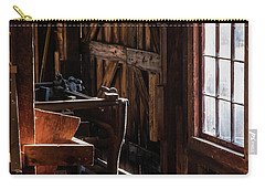 Carry-all Pouch featuring the photograph Saw Mill by Glenn DiPaola