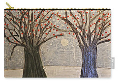 Sawsan's Trees Carry-all Pouch by Mario Perron