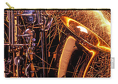 Sax With Sparks Carry-all Pouch by Garry Gay