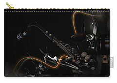 Saxophone Jazz Carry-all Pouch