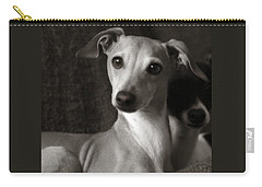 Say What Italian Greyhound Carry-all Pouch