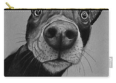 Say What?  Carry-all Pouch by Jean Cormier