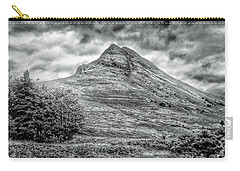 Scafell Pike In Greyscale Carry-all Pouch