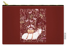 Scapegoat Healing Tapestry Print Carry-all Pouch by Lise Winne