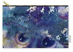Carry-all Pouch featuring the painting Scarecrow Eyes by Kathy Braud