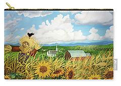 Scarecrow Farm Carry-all Pouch by Bonnie Siracusa
