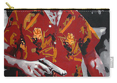 Scarface 2013 Carry-all Pouch by Luis Ludzska