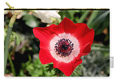 Scarlet Anemone Carry-all Pouch