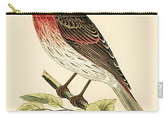Scarlet Bullfinch Carry-all Pouch
