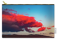 Scarlet Clouds Carry-all Pouch