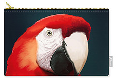 Macaws Carry-All Pouches