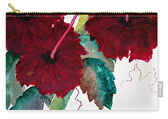 Scarlet Red Carry-all Pouch by Lil Taylor
