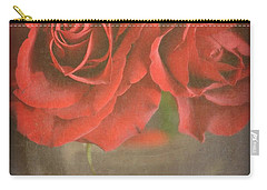 Carry-all Pouch featuring the photograph Scarlet Roses by Lyn Randle
