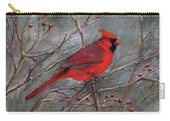 Scarlet Sentinel Carry-all Pouch by Vikki Bouffard