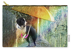 Carry-all Pouch featuring the photograph Scary Graffiti by LemonArt Photography