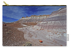 Carry-all Pouch featuring the photograph Scattered Fragments by Gary Kaylor