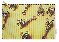 Scatterings From The City Of Romance Carry-all Pouch by Jorgo Photography - Wall Art Gallery
