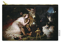 Scene From A Midsummer Night's Dream Carry-all Pouch by Sir Edwin Landseer