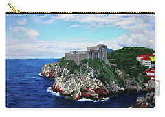 Carry-all Pouch featuring the painting Fort St Lawrence Game Of Thrones by Deborah Boyd