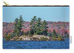 Carry-all Pouch featuring the photograph Scenic Fall View by Paul Freidlund