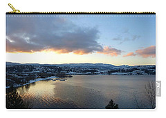 Carry-all Pouch featuring the photograph Scenic Lake Country by Will Borden