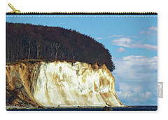Scenic Rugen Island Carry-all Pouch by Anthony Dezenzio