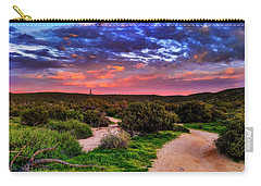 Carry-all Pouch featuring the photograph Scenic Trailhead by Anthony Citro