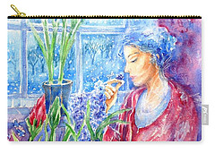 Scent Of Hyacinths Carry-all Pouch
