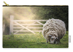 Sheep Carry-all Pouch by Joana Kruse