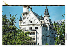 Carry-all Pouch featuring the photograph Schloss Neuschwantstein by David Morefield