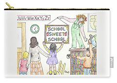 School Sweet School Carry-all Pouch