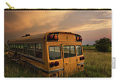 Carry-all Pouch featuring the photograph School's Out  by Aaron J Groen