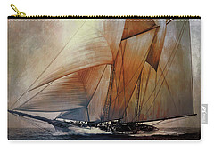 Schooner America In 1910.   Carry-all Pouch